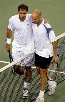 Pete Sampras, Andre Agassi